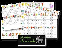 Référentiels alphas/script/cursif (LaCatalane)
