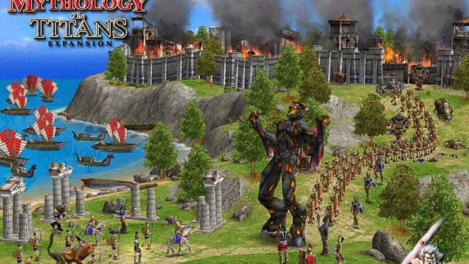 تحميل لعبة Age of Mythology مضغوطة برابط واحد مباشر كاملة مجانا