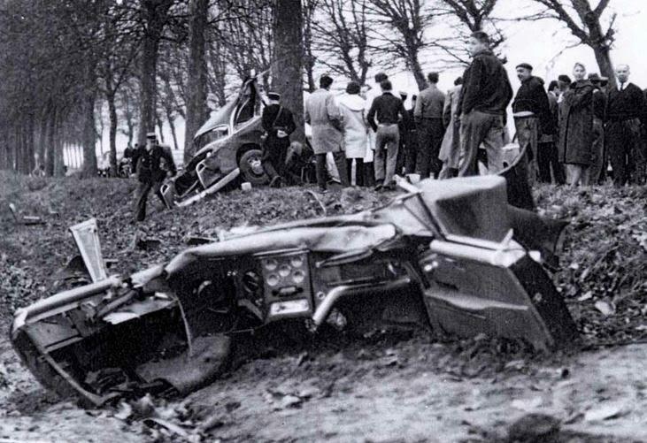 Albert Camus Car Crash