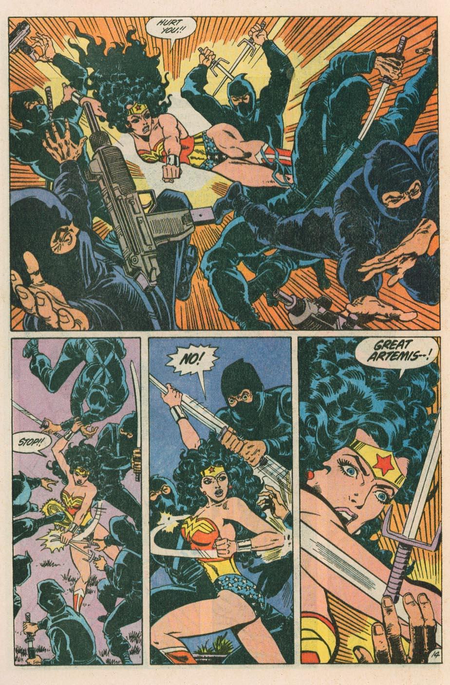 Read online Wonder Woman (1987) comic -  Issue #42 - 16