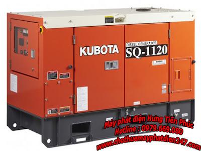 Máy phát điện Kubota 11.2kva SQ-1120
