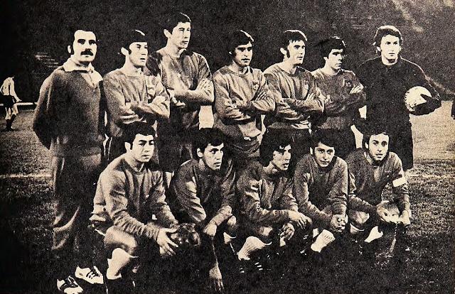 Formación de Chile ante Argentina, Copa Carlos Dittborn 1972, partido de ida