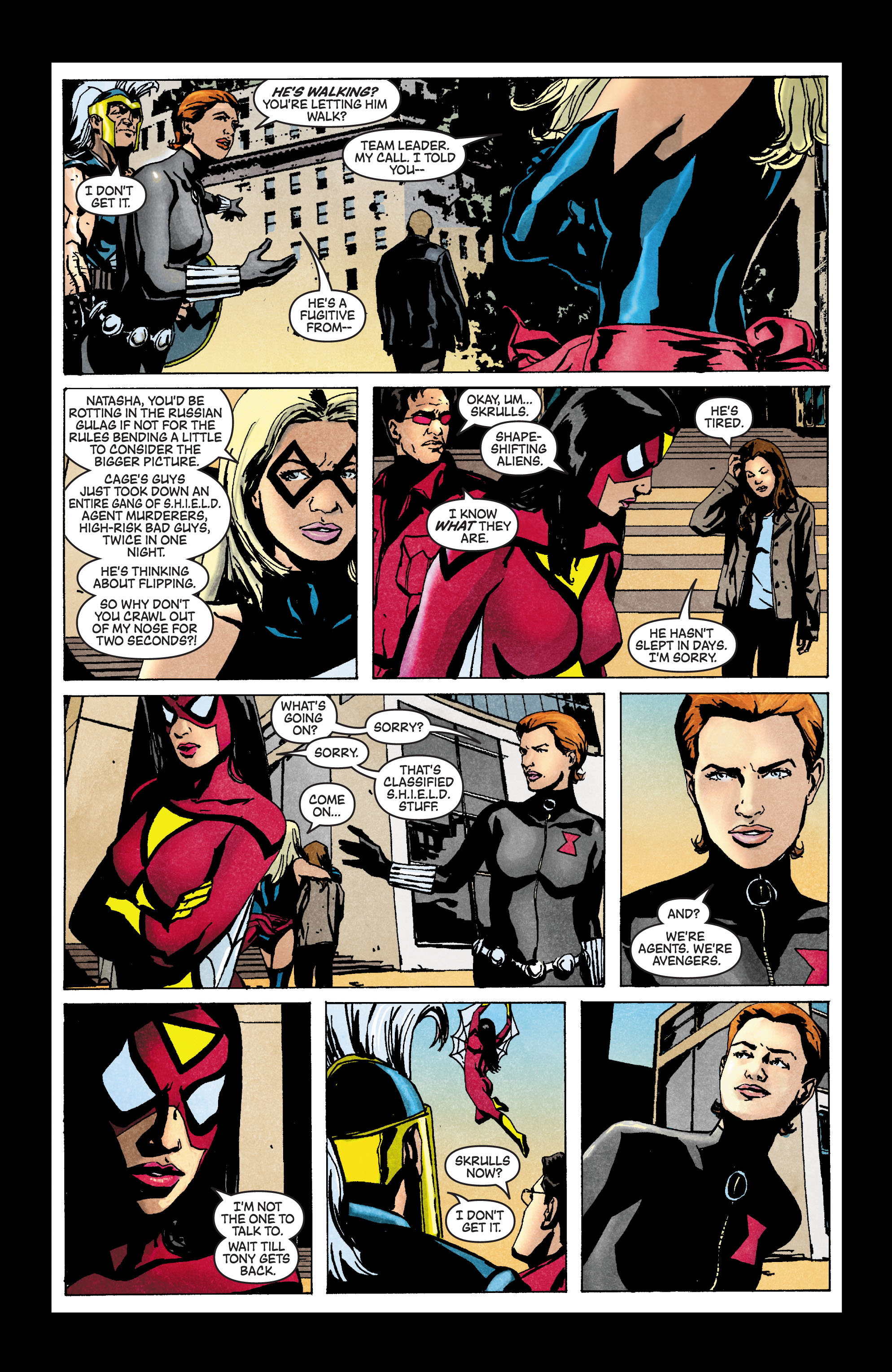Read online Secret Invasion: The Infiltration comic -  Issue #3 - 17