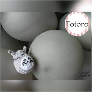 patron amigurumi Totoro el rincon de ana