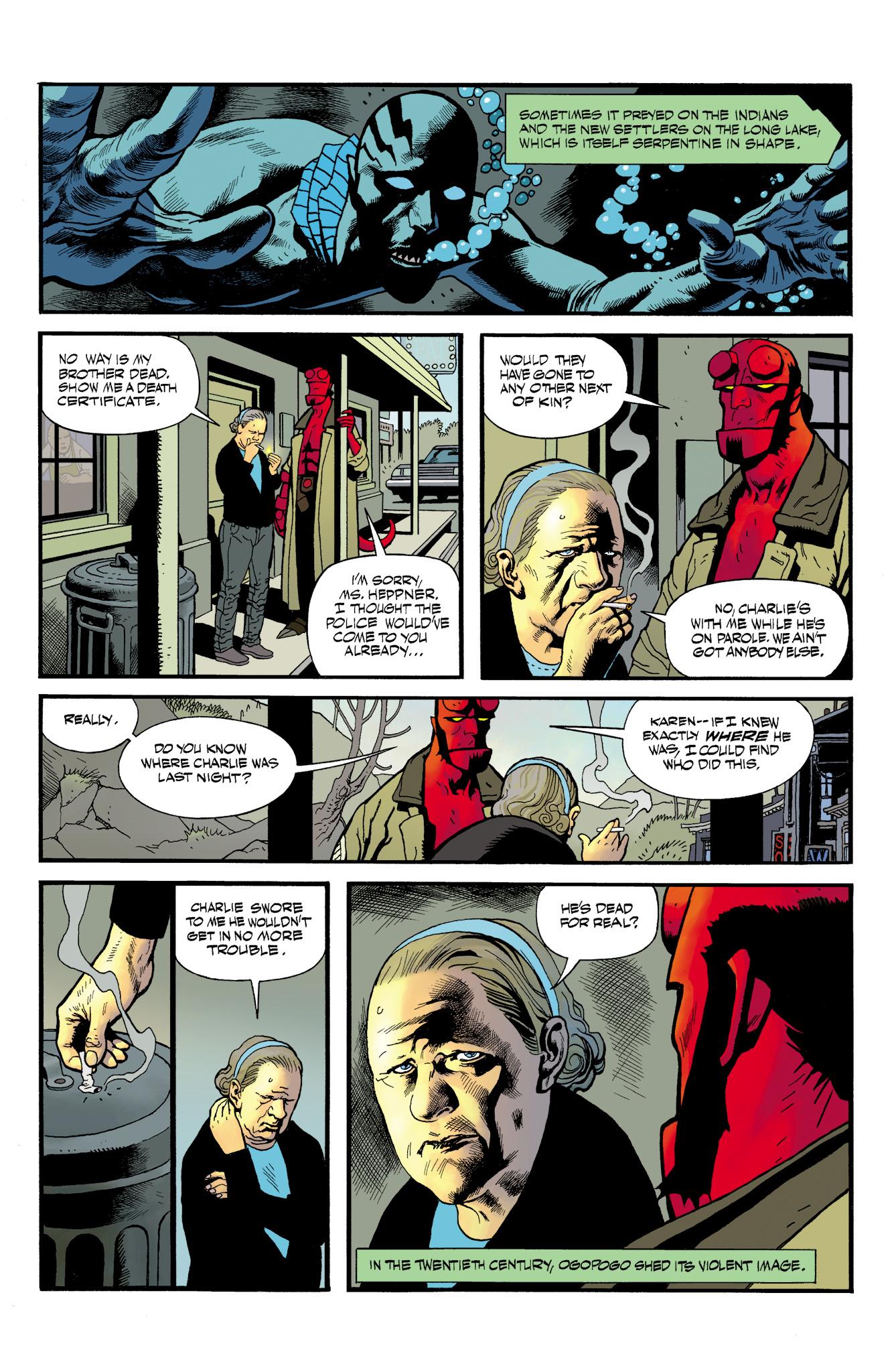 Read online Abe Sapien comic -  Issue #23 - 12