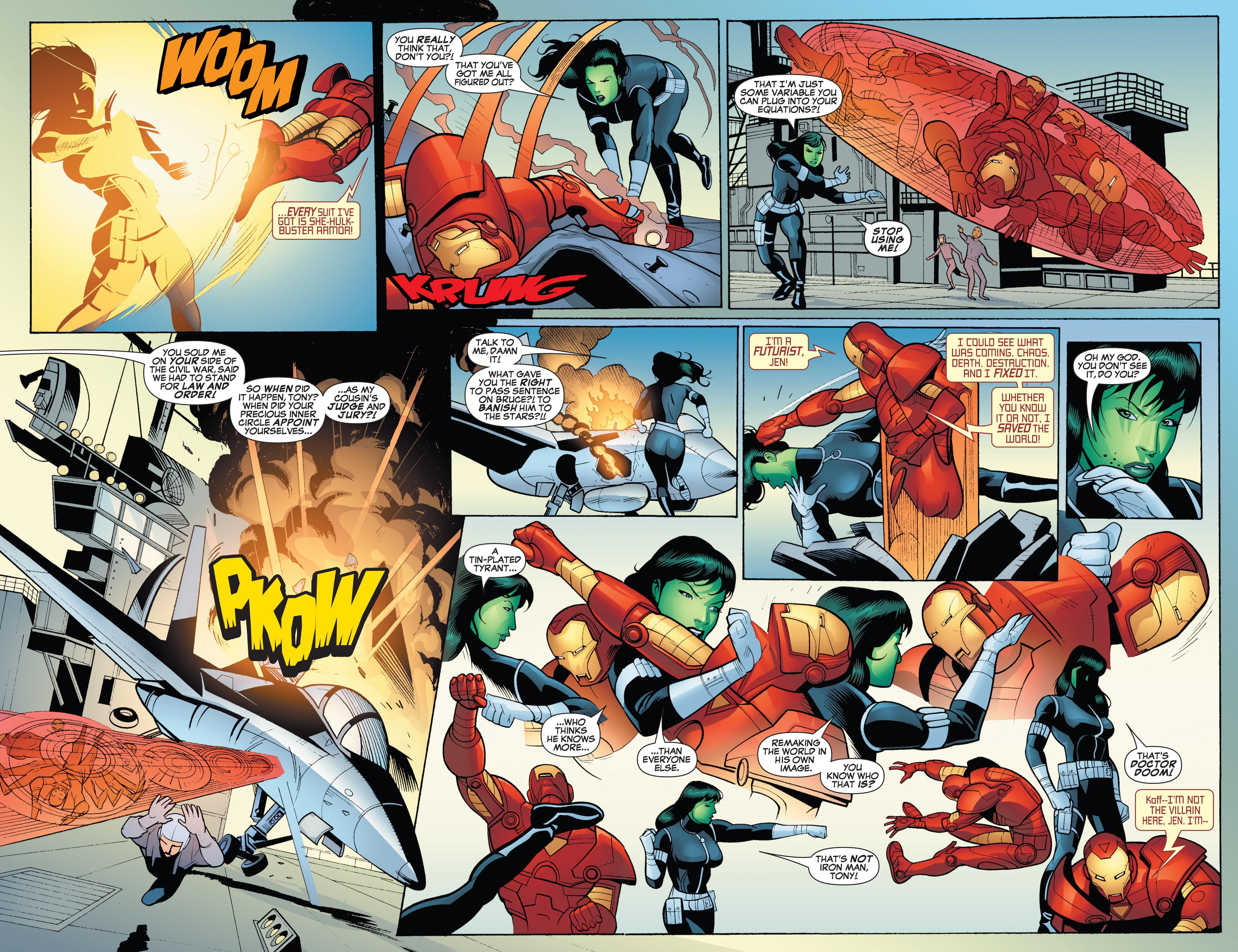 Read online She-Hulk (2005) comic -  Issue #18 - 19