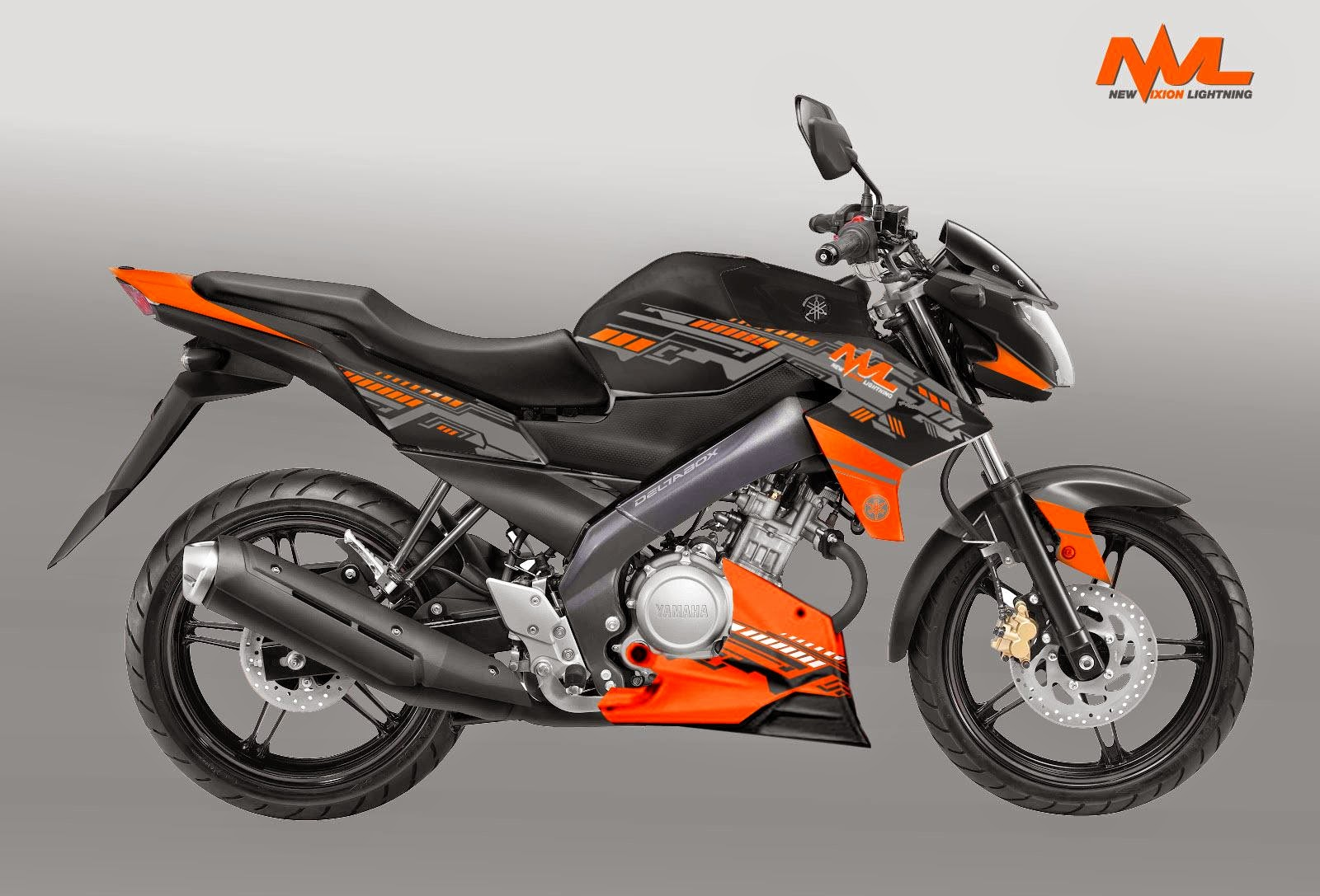 Kumpulan Modifikasi New Vixion 2014 Hitam Terlengkap Dunia Motor