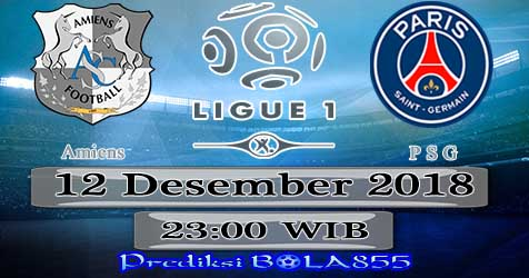 Prediksi Bola855 Amiens vs Paris Saint Germain 12 Januari 2019