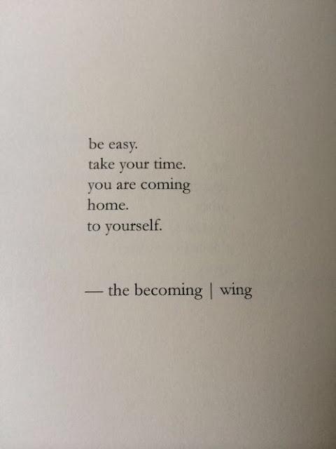 Self care and Bla Bla Bla.