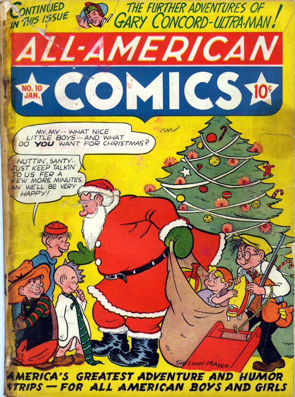 Read online All-American Comics (1939) comic -  Issue #10 - 1
