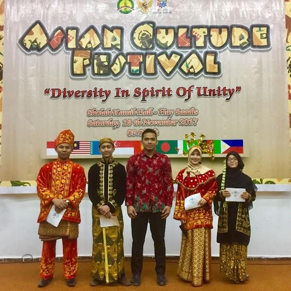 PPMI Mesir dan 9 Negara Asia Meriahkan Asian Culture Festival