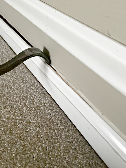 How to remove baseboards without damaging wall