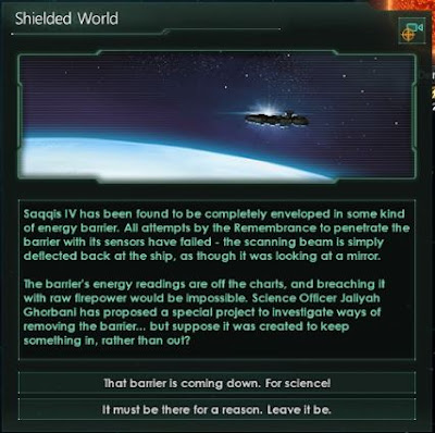 Review – Stellaris shield world