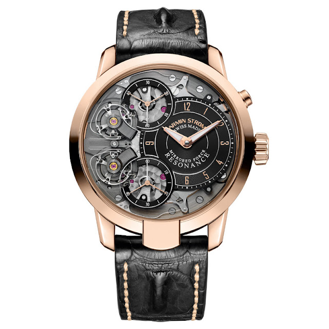 Armin Strom Mirrored Force Resonance in red gold