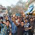 NEET परीक्षा को लेकर काकादेव कोचिंग मण्डी में छात्रों ने हंगामा काटा