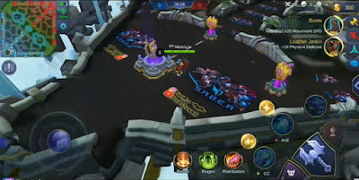 Script Map SABER Squad Mobile Legends Patch Badang