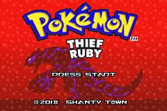 Download Pokemon Thief Ruby GBA Rom