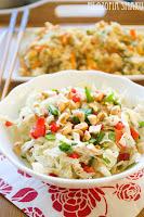 (salatka z kapusty pekinskiej i orzechow