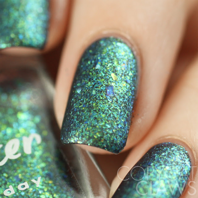 Lacquester Cornflakes Northern Lights Swatch Matte