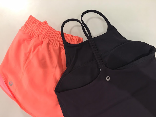 lululemon pop-orange-short sun-setter-tank