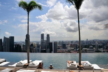 Infinite Pool, Hotel Marina Bay Sands, Singapore