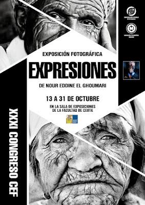 Cartel 'Expresiones' de Nour Eddine El Ghoumari