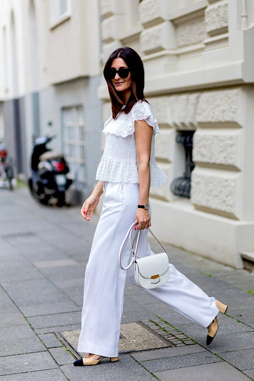 Black Trousers White Shoes