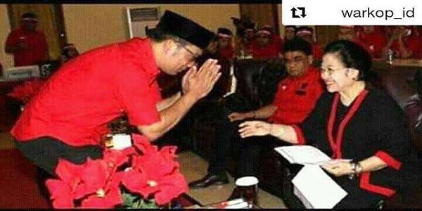 Ridwan Kamil Sungkem Megawati, Netizen: Innalillahi...