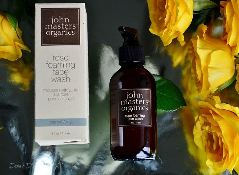 John Masters, Różany żel do mycia twarzy skład