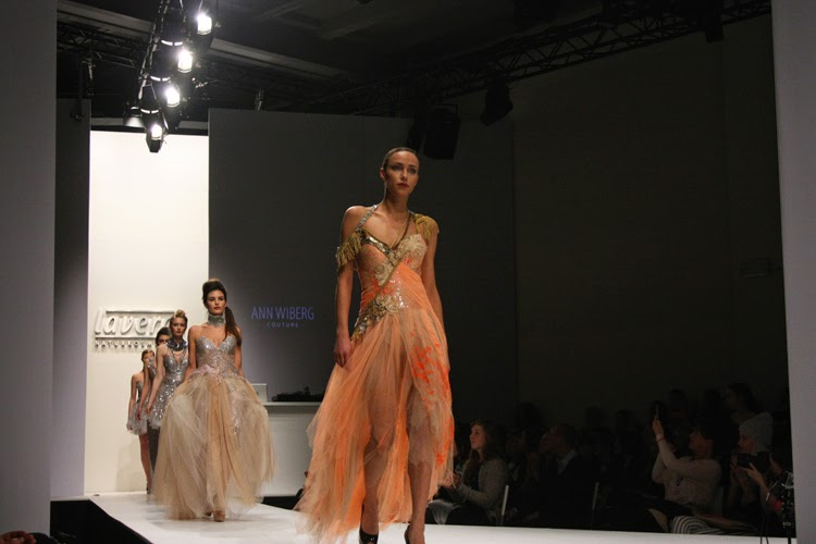 Ann Wiberg Lavera Naturkosmetik Lavera Showfloor Modeshau Catwalk Fashion Week 2015 MBFW