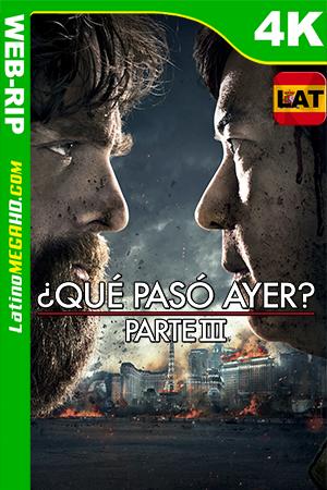 ¿Qué Pasó Ayer? Parte III (2013) Latino Ultra HD HDR WEB-RIP 2160P ()