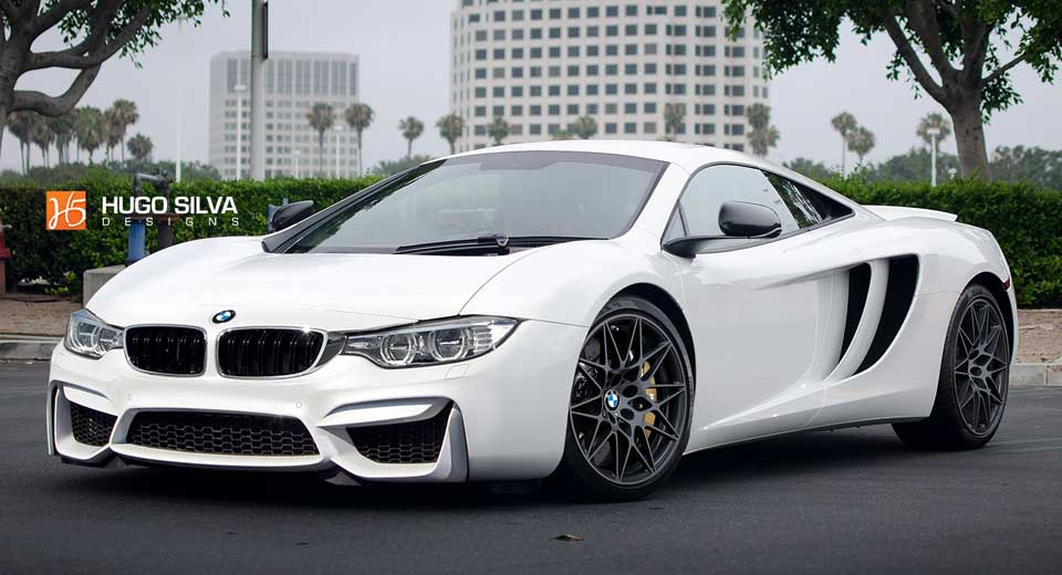 This Bmw Mclaren Supercar Mashup Doesn T Look Half Bad