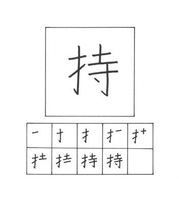 kanji memiliki/membawa