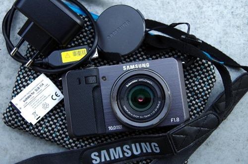 Samsung EX1 mit Zubehör