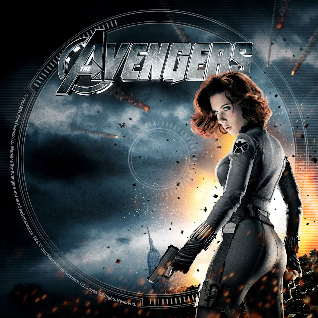 Label DVD/Bluray The Avengers