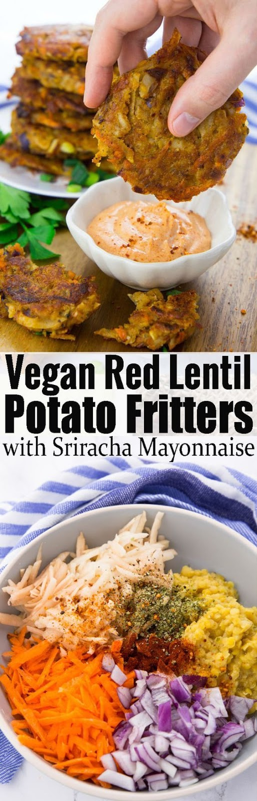Vegetable Potato Frítters!!!
