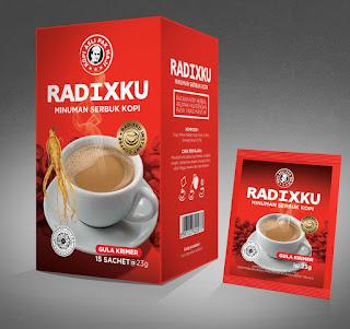 radixku kopi sehat penambah tenaga