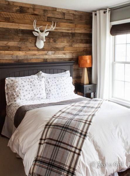 inspiracje w moim mieszkaniu: Naturalna sypialnia w stylu modern rustic / Natural bedroom in ...