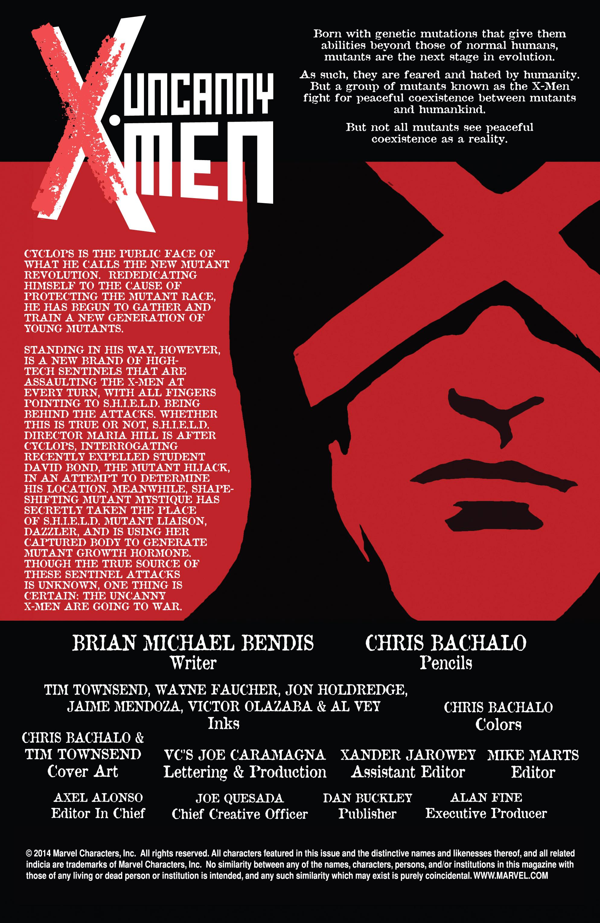 Read online Uncanny X-Men (2013) comic -  Issue # _TPB 4 - vs. S.H.I.E.L.D - 22