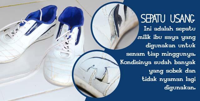 Sepatu Sobek