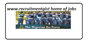 Nigerian Airforce Recruitment 2018/2019 Join the Nigerian Air Force - Contact Air Force Recruiter