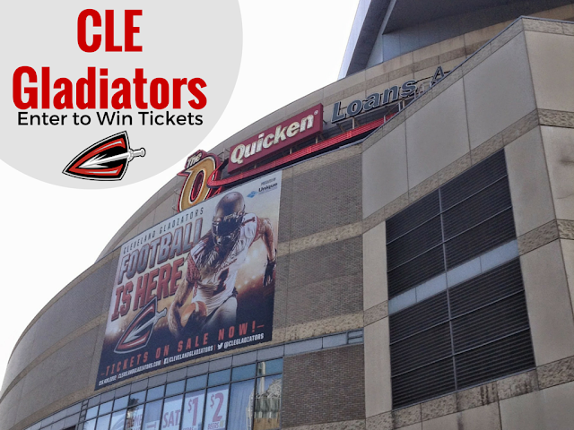 Cleveland Gladiators for the Win! Enter to Win Tickets