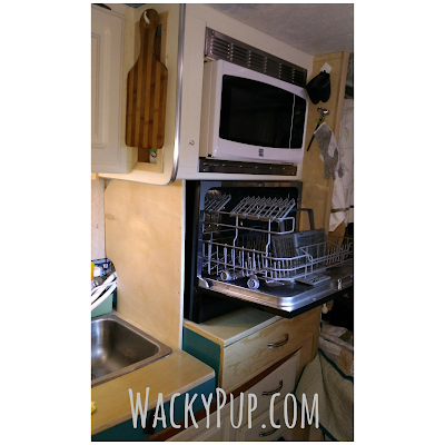 Install a real dishwasher in your tiny house or camper