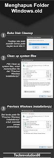 Proses Cara Membersihkan Folder WIndows old Melalui Disk Cleanup