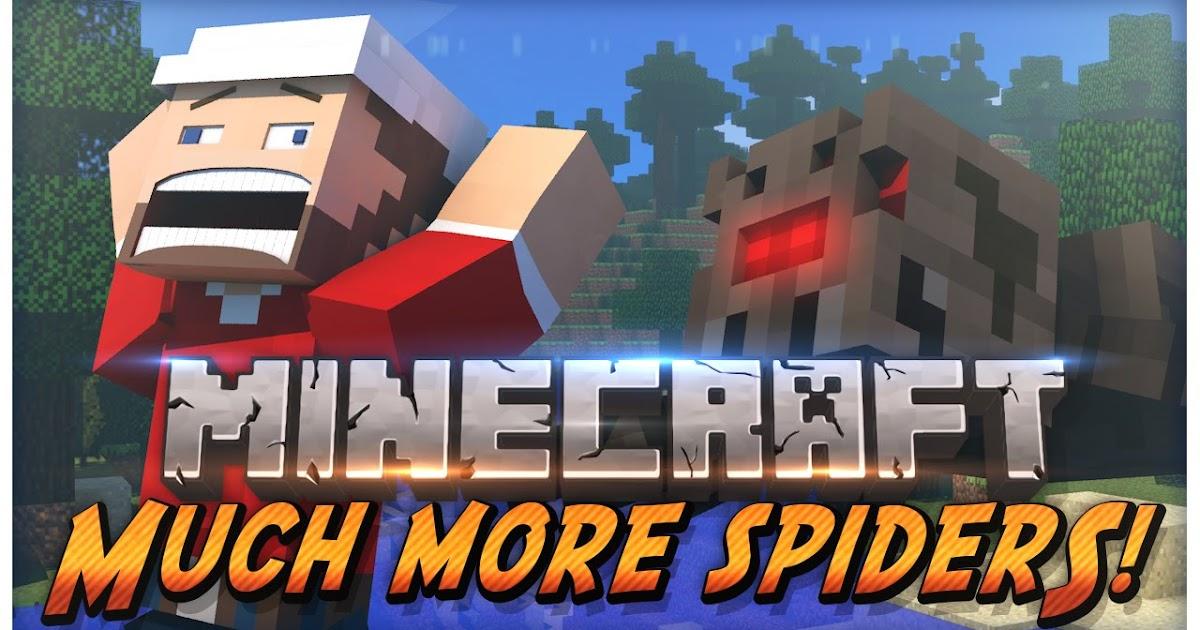 Much More Spiders Mod 1 12 2   Como Instalar Mods No