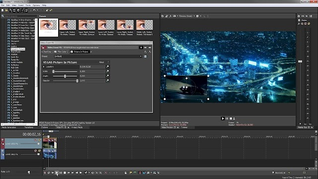 MAGIX Vegas Pro 15.0.0.387 Full cờ rắc - Link siêu tốc 2018