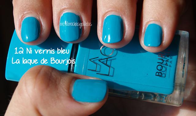 esmalte uñas bourjois ni vernis bleu