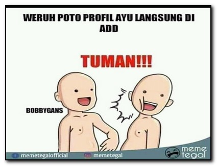 Meme tuman bahasa jawa