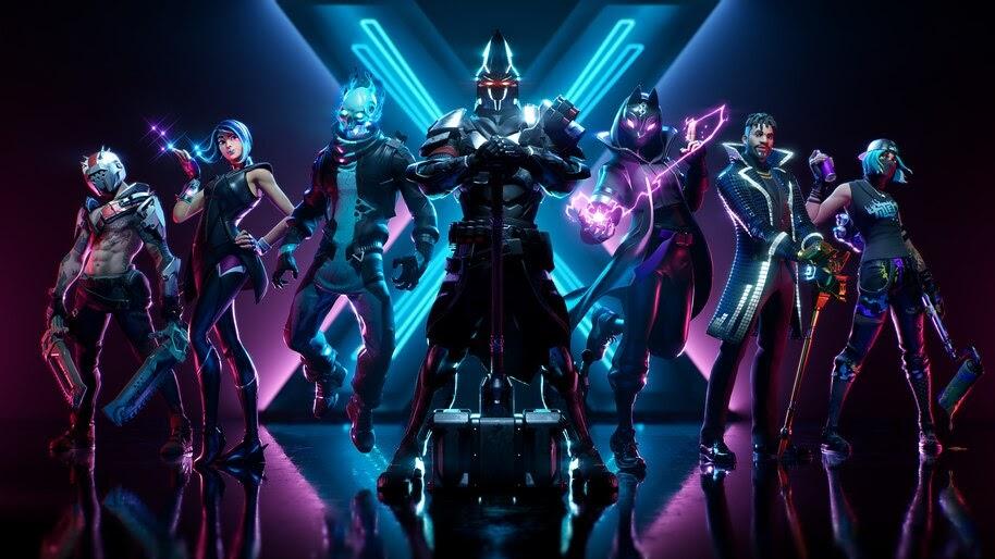 Fortnite X All Battle Pass Skins Outfits Season 10 8k