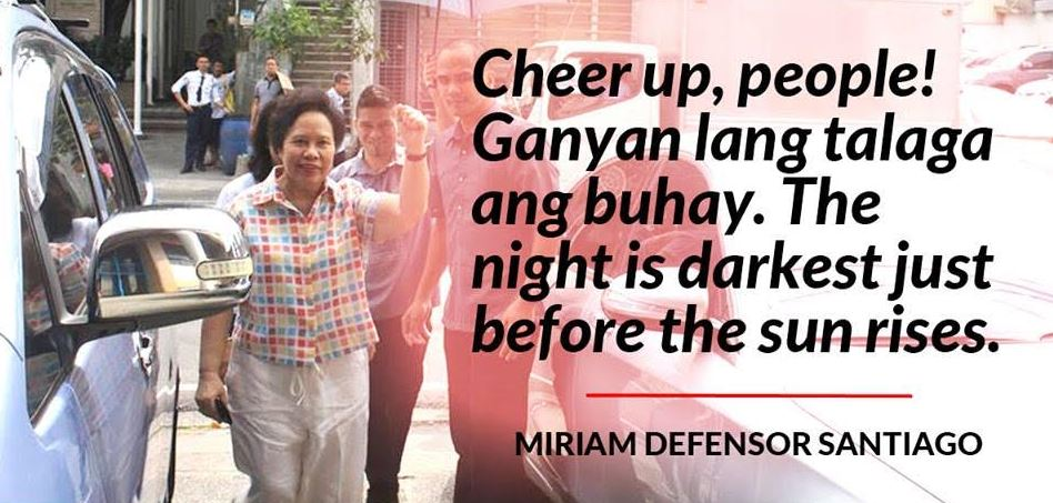 10 Super Badass Things We Learned from the Late Miriam-Defensor Santiago